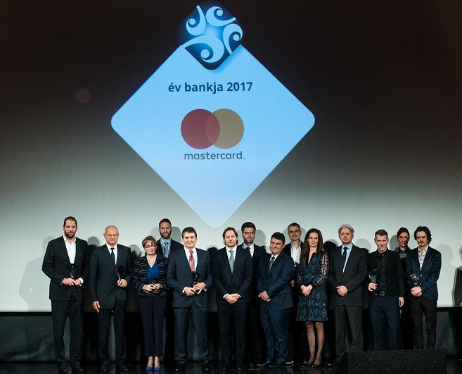 Mastercard - év bankja 2017 nyertesei