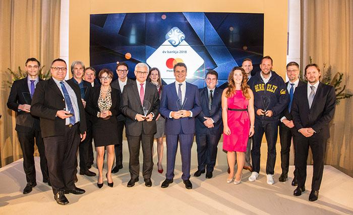 Mastercard - év bankja 2018 nyertesei