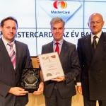 MasterCard Év bankja 2014 - Év bankára Hendrik Scheerlinck