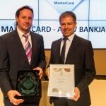 MasterCard Év bankja 2014 - Év bankja Budapest Bank
