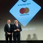 Mastercard Az év bankja díj átadása: OTP Bank - Kovács Antal