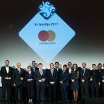 Mastercard Az év bankja csoportkép